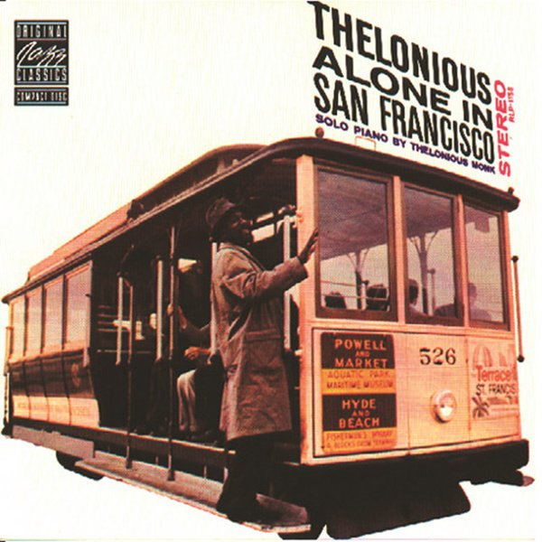 Thelonious Alone in San Francisco album cover