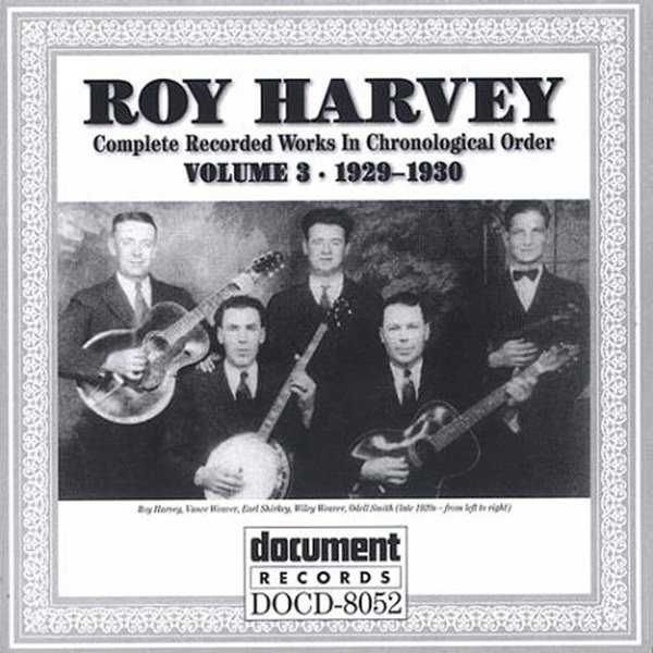 Roy Harvey, Vol. 3: 1929-1930 album cover