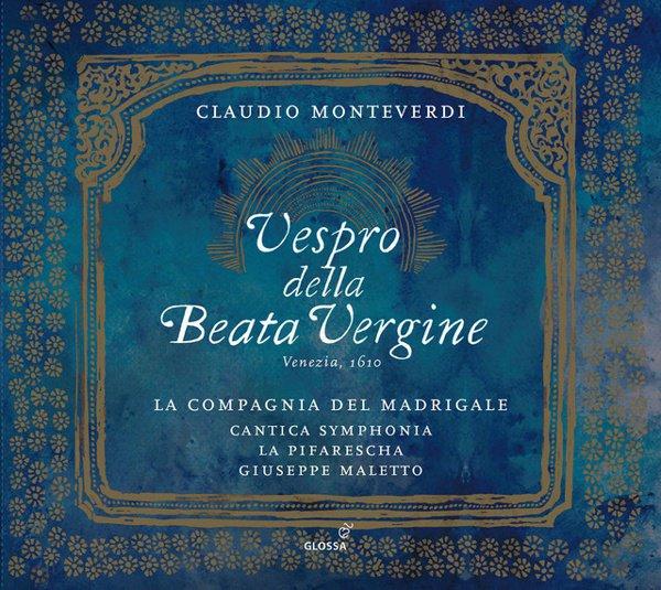 Claudio Monteverdi: Vespro della Beata Vergine album cover