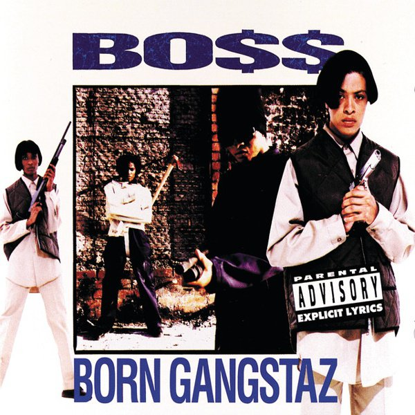 Born Gangstaz album cover