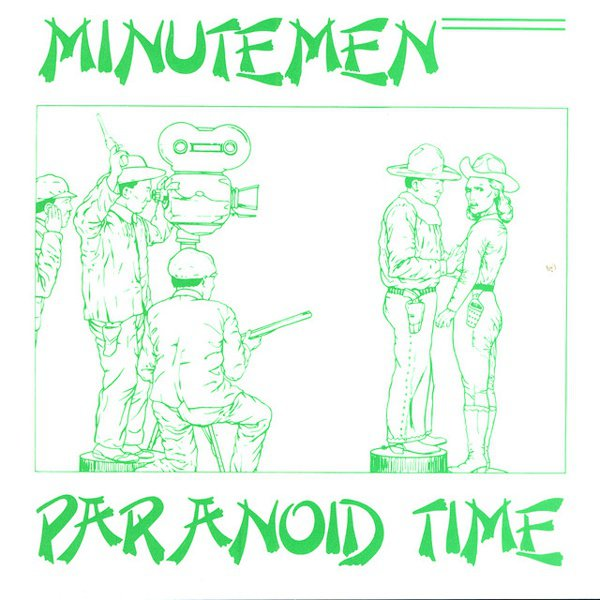 Paranoid Time album cover
