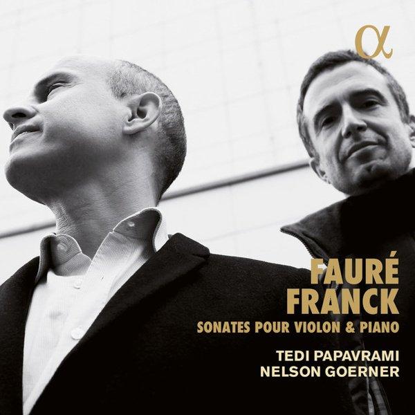 Fauré, Franck: Sonata for Violin & Piano album cover
