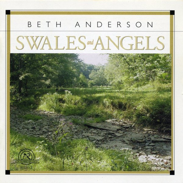 Beth Anderson: Swales and Angels album cover