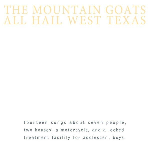 All Hail West Texas album cover