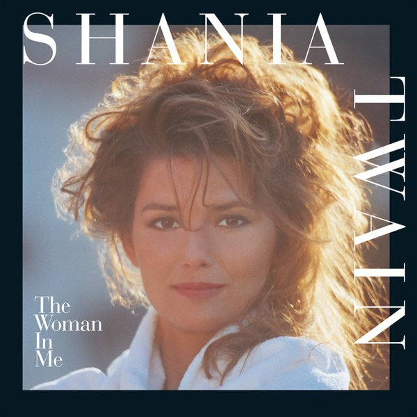 The Woman in Me album cover