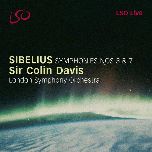 Sibelius: Symphonies Nos. 3 & 7 album cover