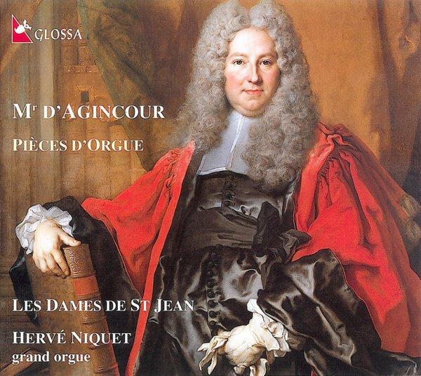 D'Agincour: Pièces D'Orgue album cover