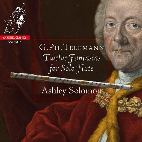 G.Ph. Telemann: Twelve Fantasias for Solo Flute album cover
