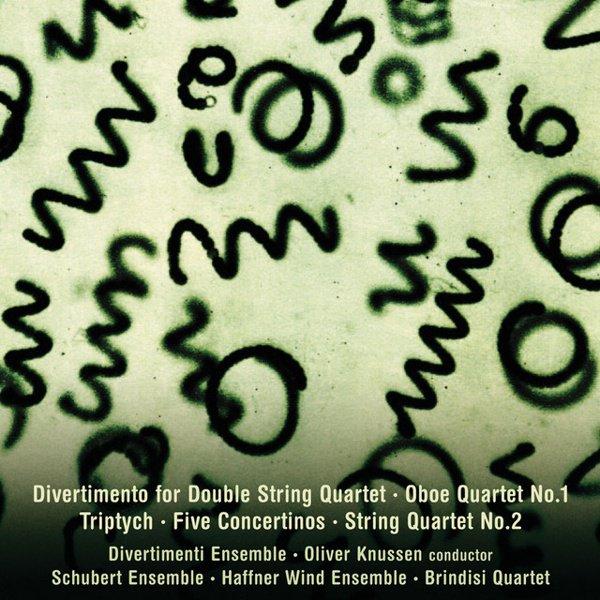 Colin Matthews: Divertimento; Oboe Quartet No. 1; Triptych; Five Concertinos; String Quartet No. 2 album cover
