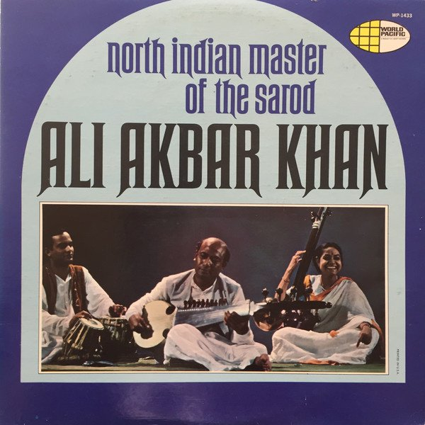 North Indian Master of the Sarod album cover