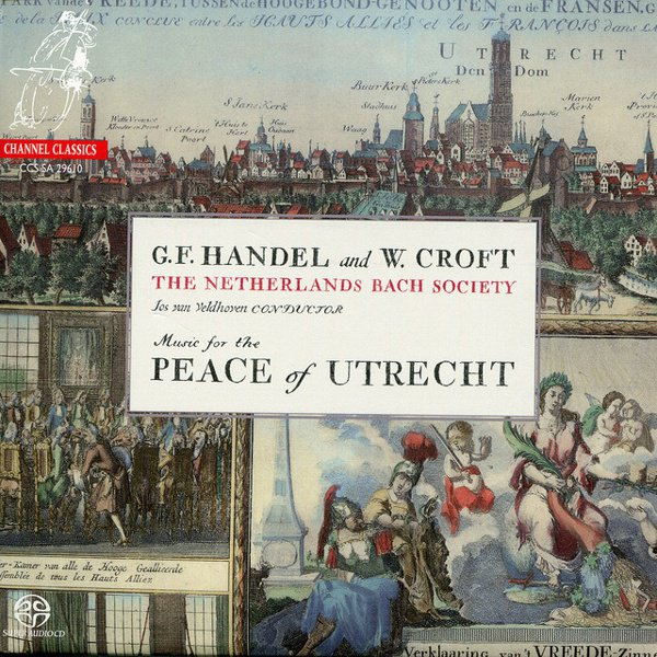 Music for the Peace of Utrecht album cover