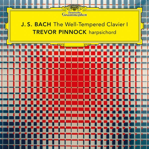 J.S. Bach: The Well-Tempered Clavier, Book 1, BWV 846-869 album cover