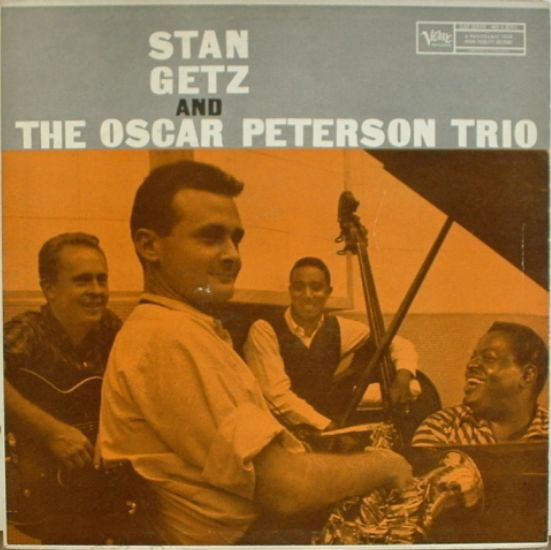 Stan Getz and the Oscar Peterson Trio album cover