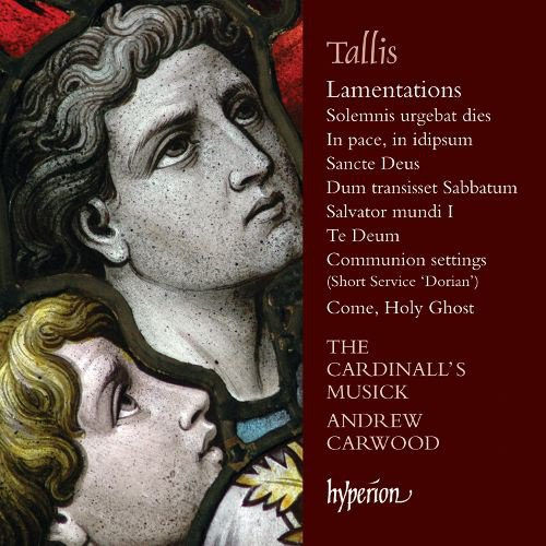Tallis: Lamentations and Other Sacred Music album cover