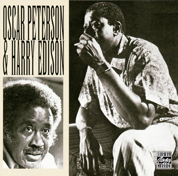 Oscar Peterson & Harry Edison album cover