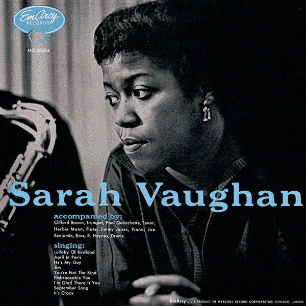 Sarah Vaughan album cover