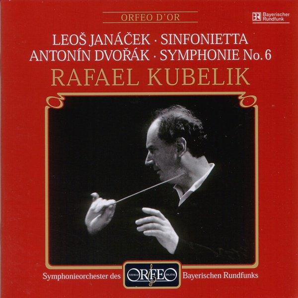 Janacek: Sinfonietta; Symphony No. 6 album cover