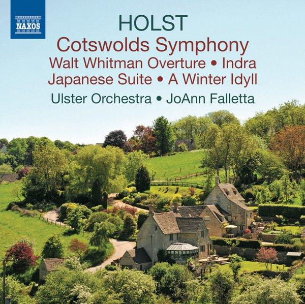 Holst: Cotswolds Symphony album cover