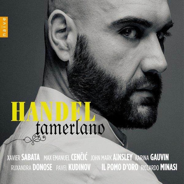Handel: Tamerlano album cover