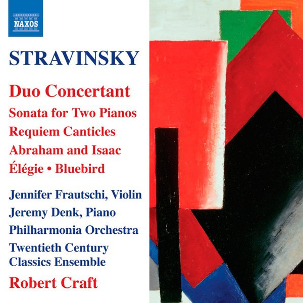 Stravinsky: Duo Concertant album cover
