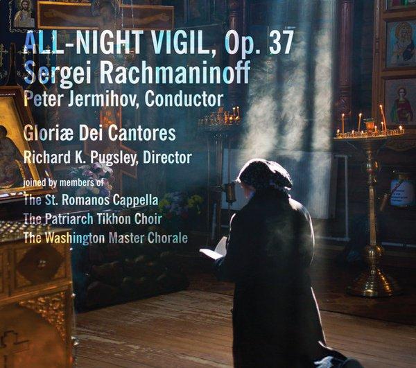 Rachmaninoff: All-Night Vigil, Op. 37 album cover