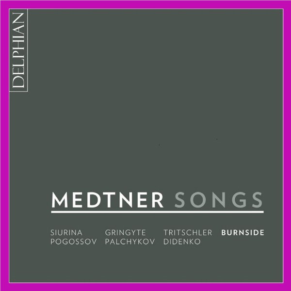 Medtner: Songs album cover