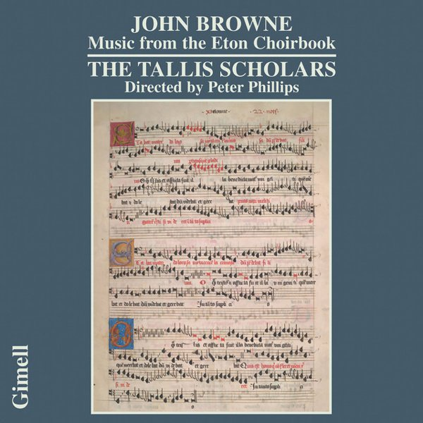 John Browne: Music from the Eton Choirbook album cover