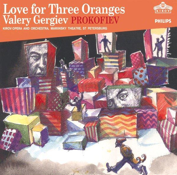 Prokofiev: Love for Three Oranges album cover