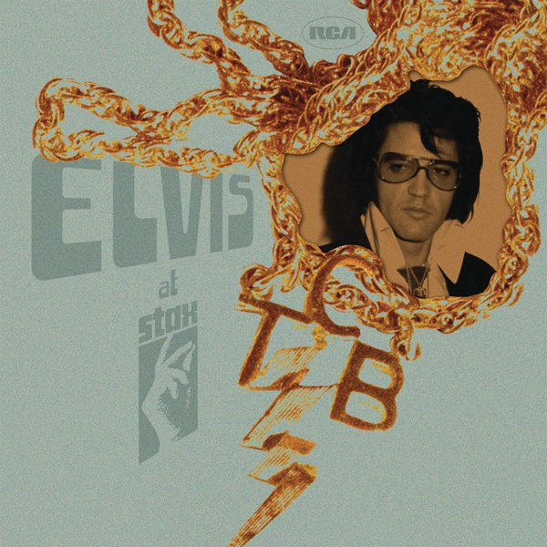 Elvis at Stax album cover