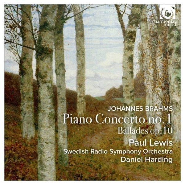 Johannes Brahms: Piano Concerto No. 1; Ballades Op. 10 album cover