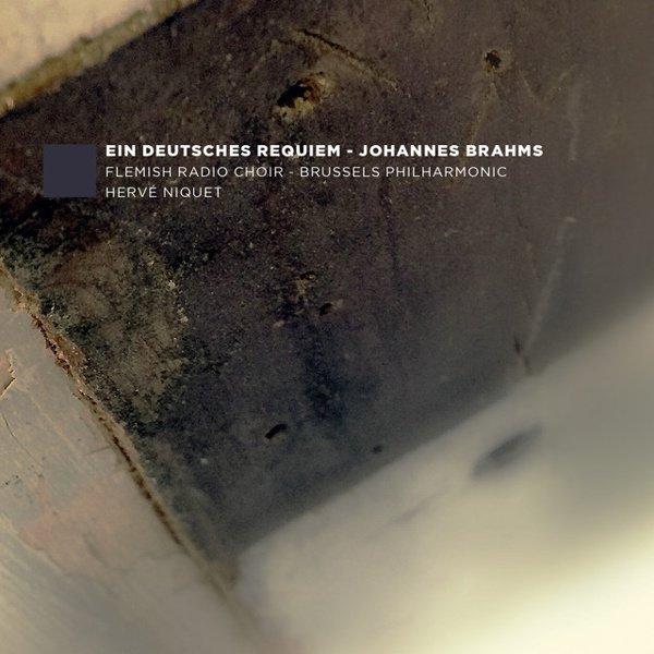 Johannes Brahms: Ein Deutsches Requiem album cover